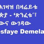 Ethnic politics _ Ethiopia